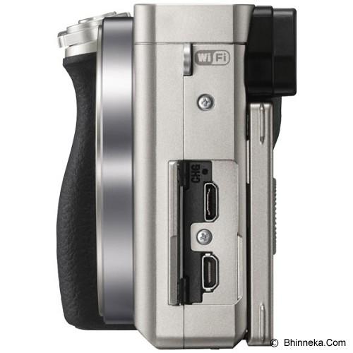 SONY Mirrorless Digital Camera [ILCE-6000L/S] - Silver - Camera Mirrorless